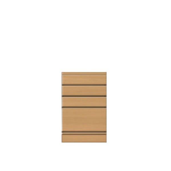 フルチョイス引戸キャビネット シータ /チェスト4段 (オーダー指定:幅30-80x奥行30/35/44x高さ81-95cm)