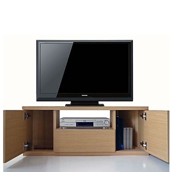 Dee ディー 超薄型コーナーテレビボード(ガラス無し)/壁面置きも可能 (幅90x奥行35.2x高さ41cm 完成品)