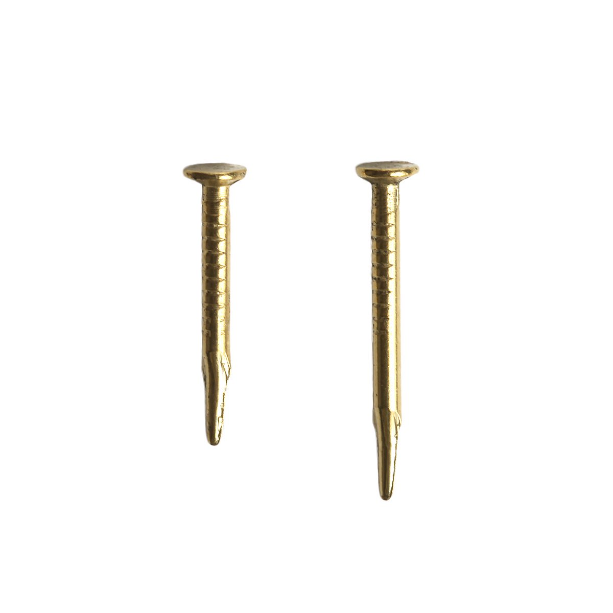 BRASS CLINCH HALF POUND NAILS