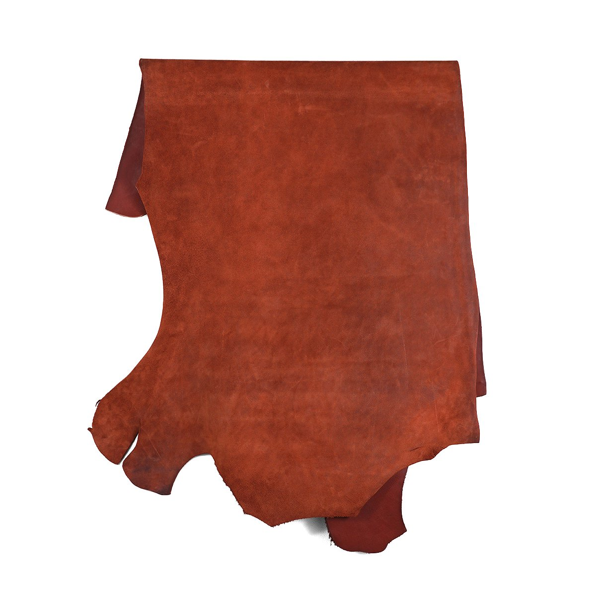 HORWEEN LEATHER COMPANY CALICO SUEDE RUST 詳細画像1
