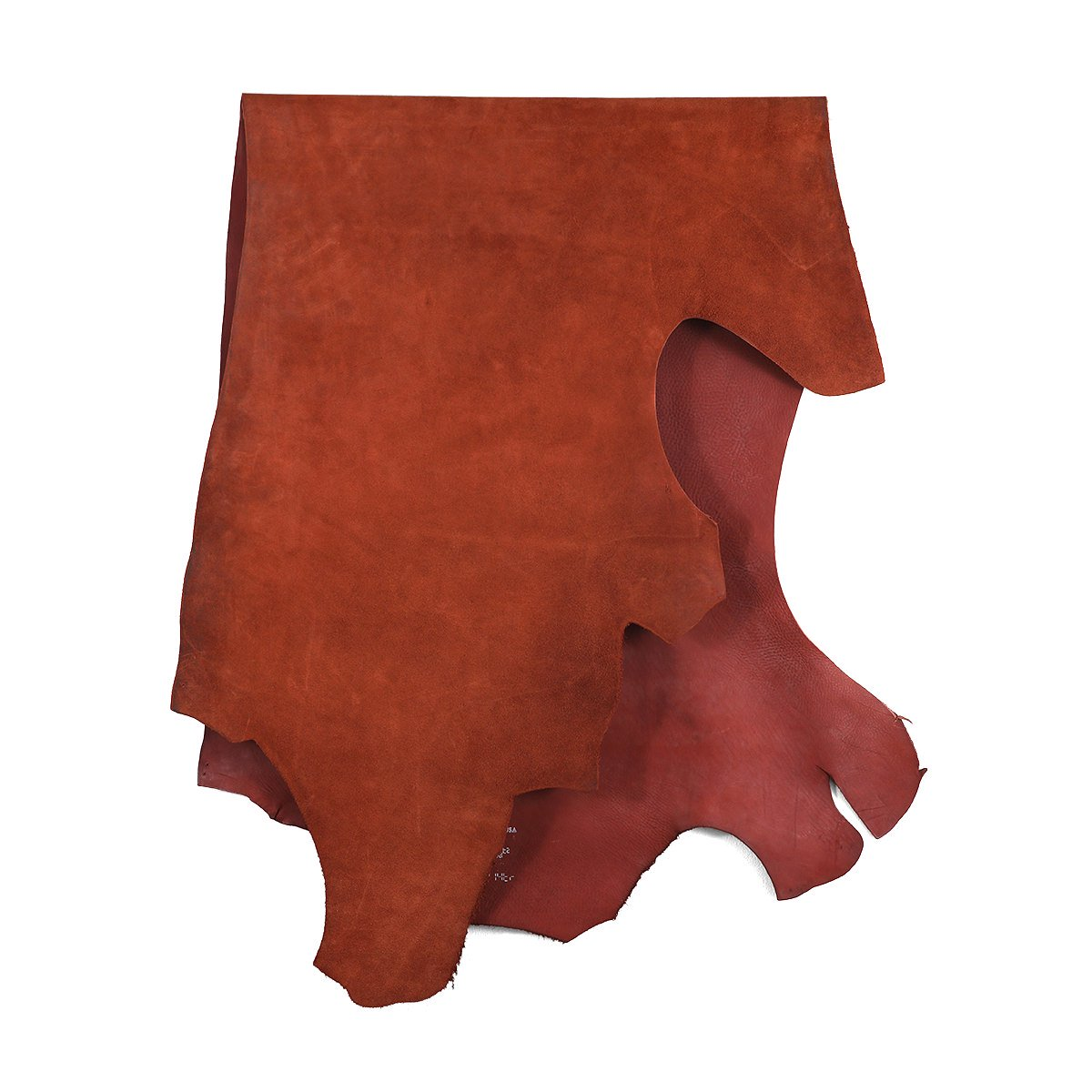 HORWEEN LEATHER COMPANY CALICO SUEDE RUST 詳細画像2