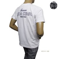 10000550 バックプリントのロゴTシャツ