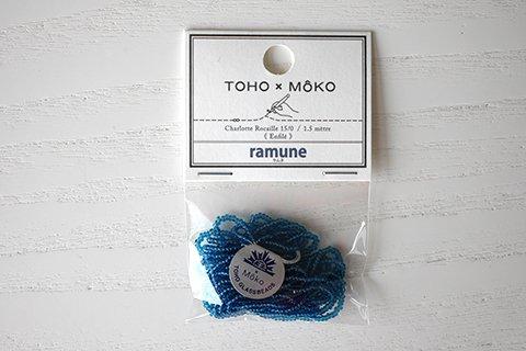 【TOHO×MOKO】シャーロットビーズ 15/0 ラムネ