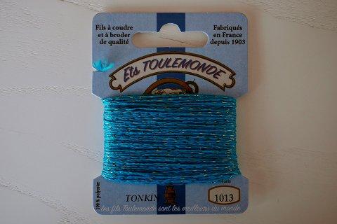 TONKIN刺繍糸#1013_Azure フランス製