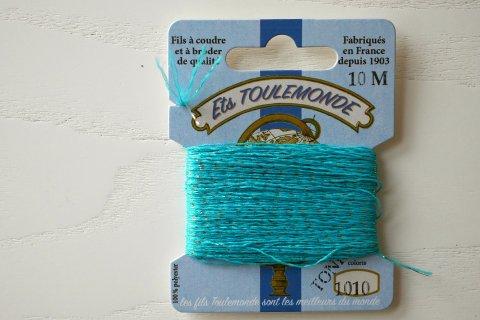 TONKIN刺繍糸#1010_Turquoise フランス製