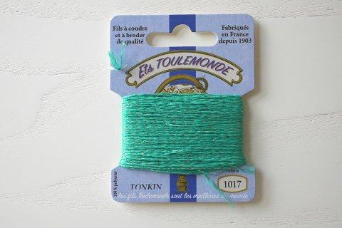 TONKIN刺繍糸#1017_Emerald フランス製