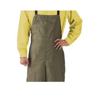 【草刈り作業に最適!】草刈りサロペット 前面撥水加工 背面メッシュ素材 G-300