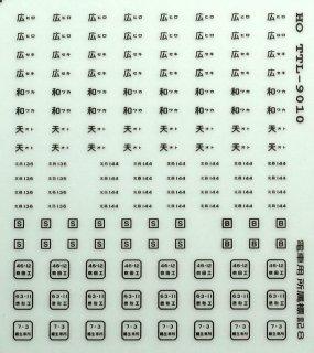 TTL9010C 【1/80】通勤電車所属標記8 青20号