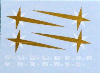 TTD9381-01 【1/45】DD51流れ星デカール