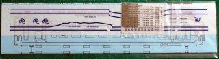 TTL8961-82A 【1/80】キハ40道南いさりび鉄道一般車(山吹色)製作用インレタセット