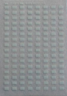 【N】TTL806-02E 私鉄用妻窓広告シールインレタ ライトブルー