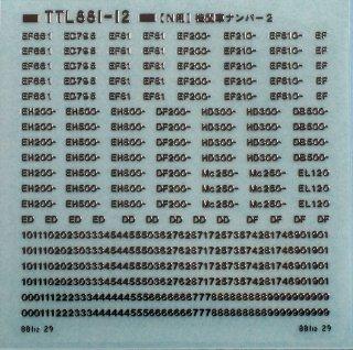 【N】TTL881-12 機関車ナンバー2