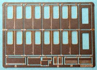 【N】TTP260A特 新世代通勤車側扉(フチ有・取っ手左・209系タイプ汎用) 10両分セット