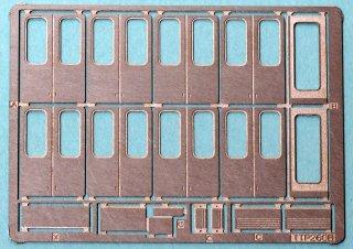 【N】TTP260B特 新世代通勤車側扉(フチ有・取っ手左右・サハ204-100・私鉄汎用) 10両分セット