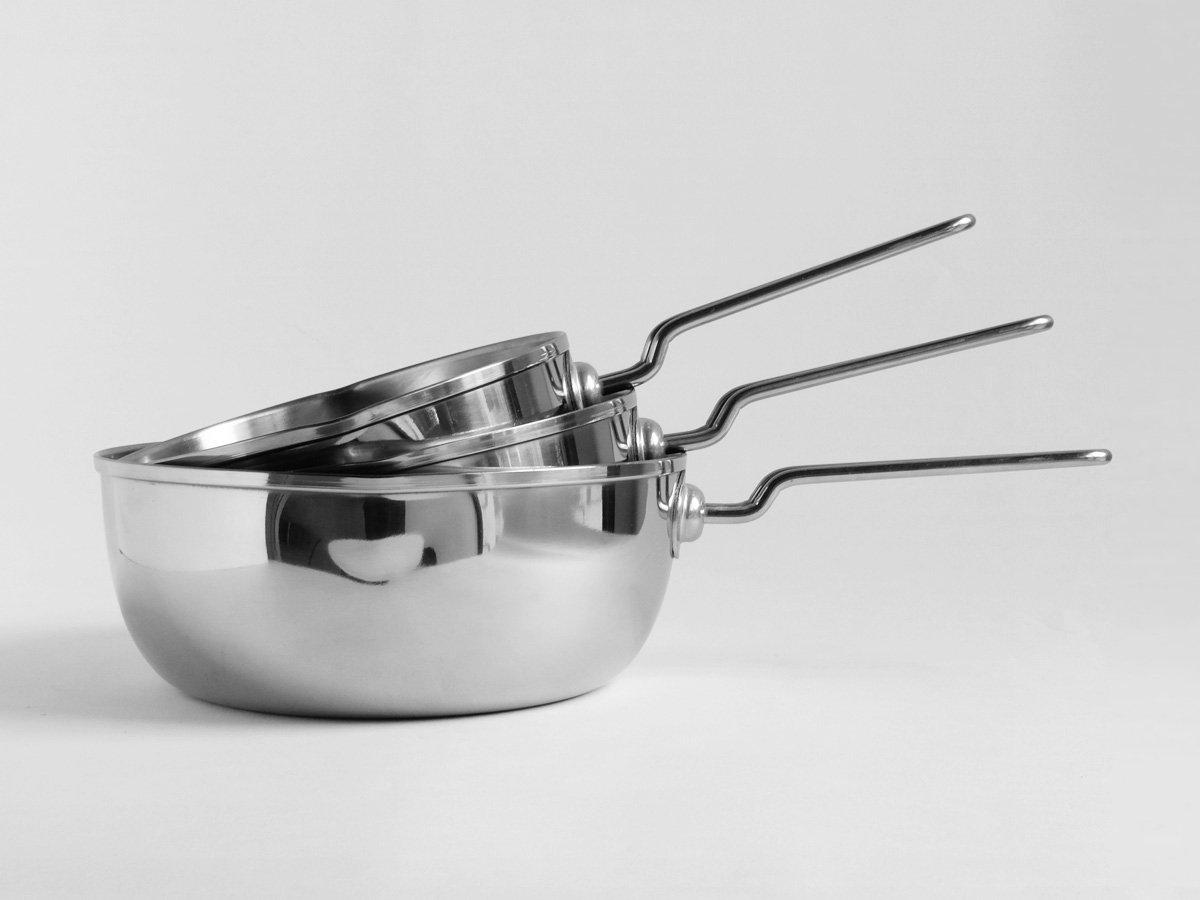 ステンレス三層鋼 雪平鍋