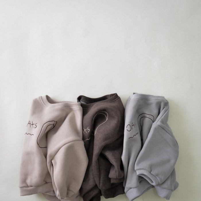 パン刺繍ウラケスウェット(20AW/SALE)