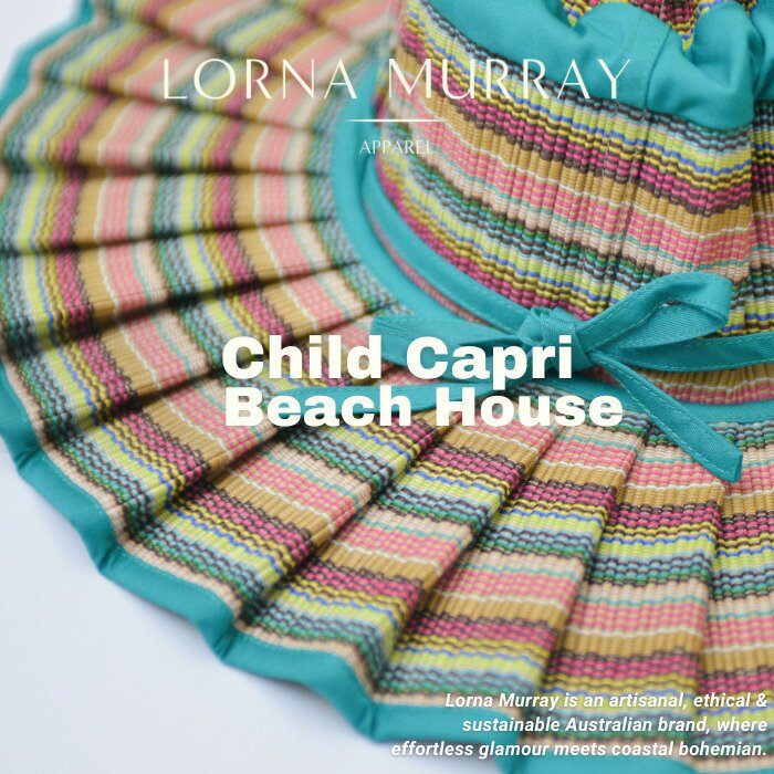 Child Capri Beach House/LORNA MURRAY