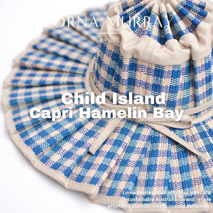 Child Island Capri Hamelin Bay/LORNA MURRAY