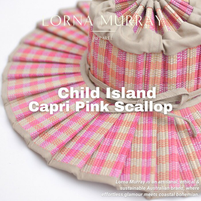 Child Island Capri Pink Scallop/LORNA MURRAY