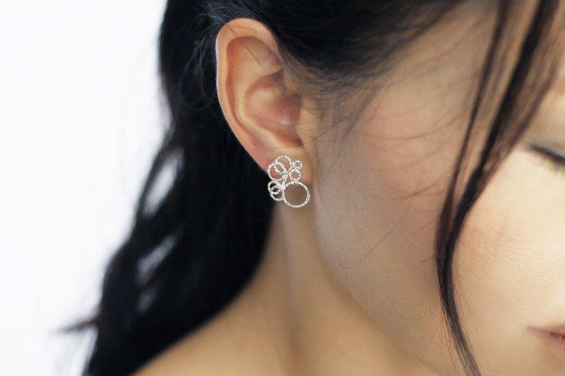 シャボン(earring)