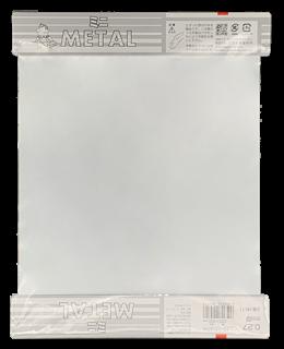 カラートタンホワイト ミニ 0.27mm厚 225mm x 300mm M571