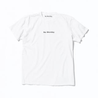 NoMondayロゴ T-shirt