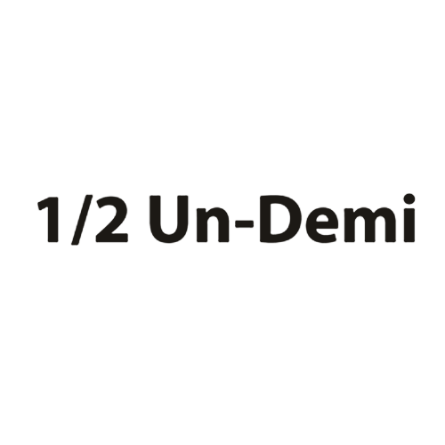 1/2 Un-Demi アンドゥミ