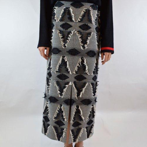 GREED international【グリードインターナショナル】DUTEL GEOMETRIC JACQUARD Skirt