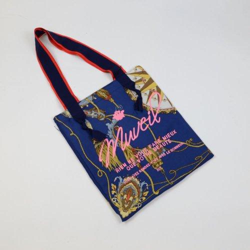 MUVEIL【ミュベール】 ヴィンテージスカーフトート