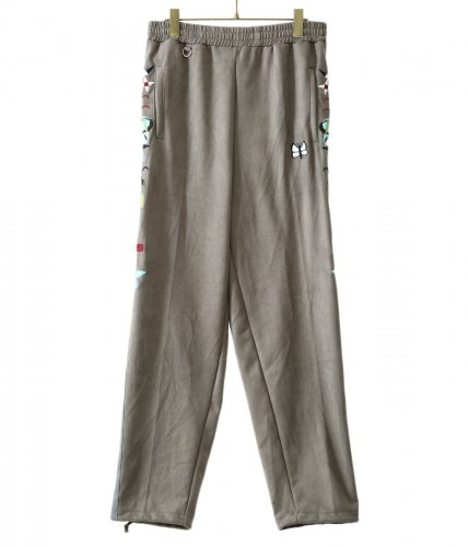 doublet【ダブレット】CHAOS EMBROIDERY SUEDE TRACK PANTS
