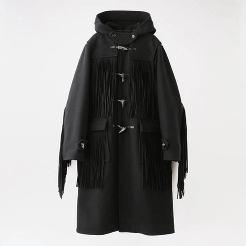 doublet【ダブレット】FRINGE DUFFEL COAT 20AW07CO35