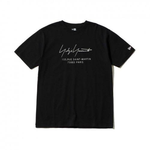 Yohji Yamamoto × New Era PARIS LOGO S/S COTTON TEE