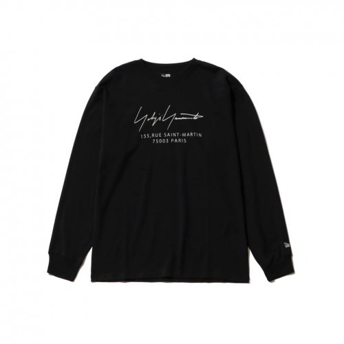 Yohji Yamamoto × New Era PARIS LOGO L/S COTTON TEE