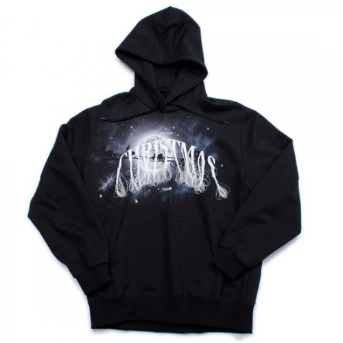 doublet【ダブレット】NOT ANNIVERSARY EMBROIDERY HOODIE BLACK
