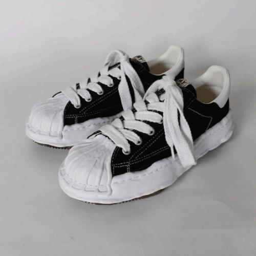 Maison MIHARA YASUHIRO 【メゾンミハラヤスヒロ】21SS original stc sole  canvas Lowcut sneaker A06FW704