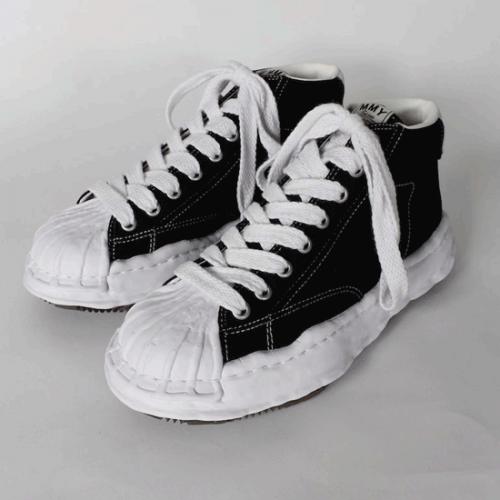 Maison MIHARA YASUHIRO 【メゾンミハラヤスヒロ】21SS original stc sole Canvas Hitop sneaker A06FW703