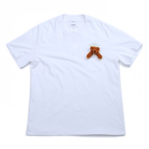 doublet【ダブレット】T-SHIRT WITH MY FRIEND WHITE 21SS27CS173