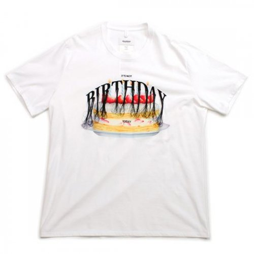 doublet【ダブレット】NOT ANNIVERSARY EMBROIDERY T-SHIRT WHITE 21SS32CS177