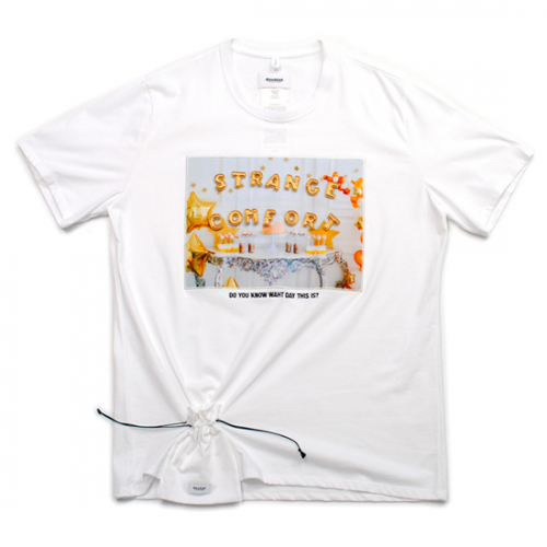 doublet【ダブレット】D.I.Y ALPHABET T-SHIRT WHITE 21SS22CS188