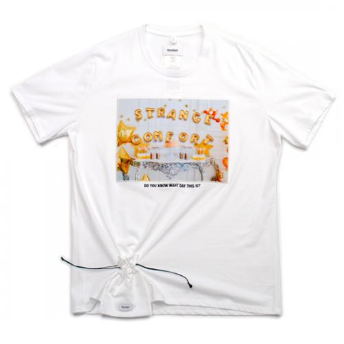 doublet【ダブレット】D.I.Y ALPHABET T-SHIRT WHITE 21SS22CS188