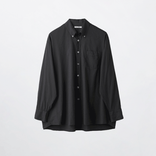 OUR LEGACY【アワーレガシー】BORROWED BD SHIRT BLACK VOILE MR192BB