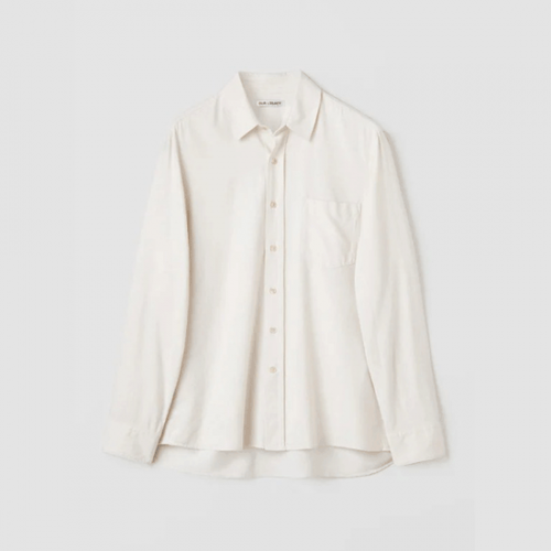 OUR LEGACY【アワーレガシー】CLASSIC SHIRT WHITE SILK COCSWS
