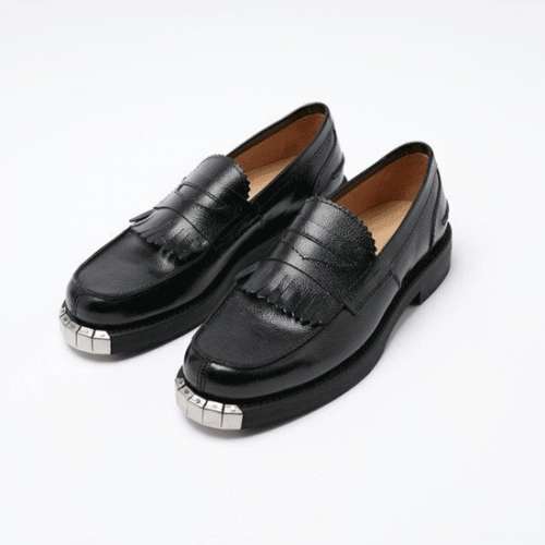 OUR LEGACY【アワーレガシー】LOAFER BLACK ARMY GRAIN LEATHER A2217LB