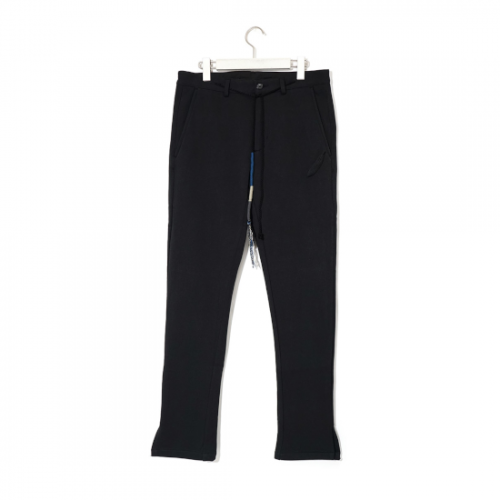 RIOT FACETASM 【ライオット ファセッタズム】 TAPERED SLIM PANTS BLACK (RF21S-PT-U04)