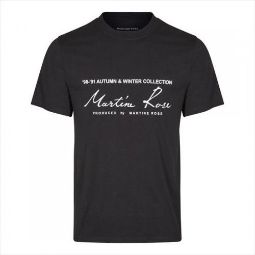 Martine Rose 【マーティンローズ】 Classic S/S T-Shirt BLACK(S10 MR603J)