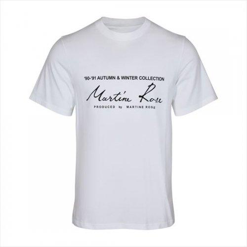 Martine Rose 【マーティンローズ】 Classic S/S T-Shirt WHITE(S10 MR603J)