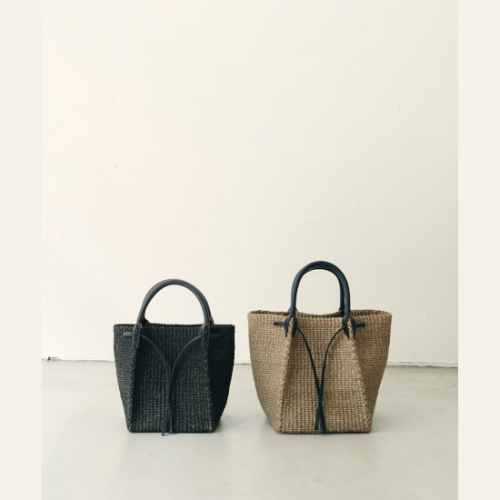 OUTERSUNSET 【アウターサンセット】 abaca basket bag BROWN(1119001)
