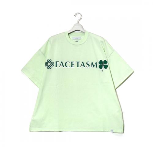 facetasm 【ファセッタズム】 CLOVER BIG TEE KHAKI (KG0-TE-U12)