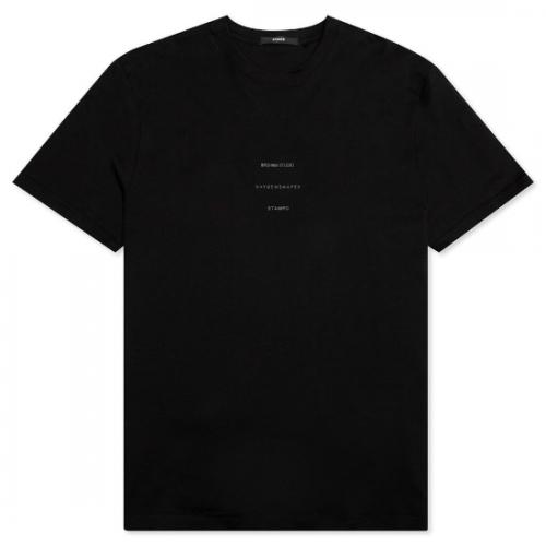 Stampd 【スタンプド】 stampdxdanielarsham logo tee  BLACK (S-M2636TE)