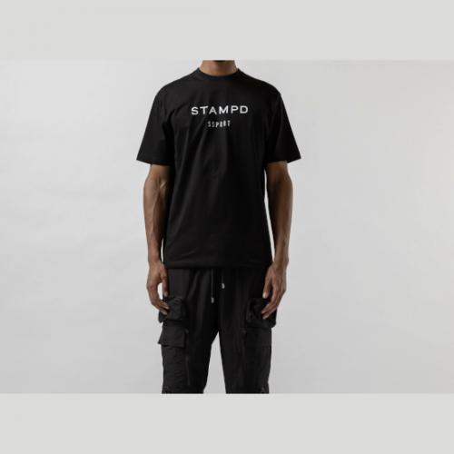 Stampd 【スタンプド】 スポーツ クラシック ロゴ ティーBLACK (S-M2617TE)